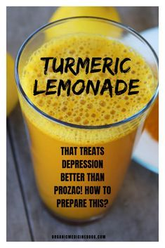 Turmeric Lemonade That Treats Depression Better Than Prozac! How To Prepare This? Turmeric lemonade that treats depression better than prozac! How to prepare this? – Book of Organic Medicine Healthy Smoothie, Healthy Drinks, Healthy Tips, Smoothies, Dinner Healthy, Natural Health Remedies, Natural Cures, Herbal Remedies, Arthritis Remedies