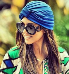 Not crazy about the turban, but I wouldn't kick these #sunglasses out of bed!        |   #cassylondon #repin