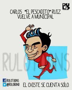 El regreso del Pescadito Ruiz en Guatemala...