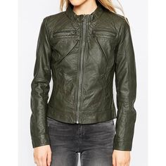 Only   Only PU Biker Jacket at ASOS (69 AUD) via Polyvore