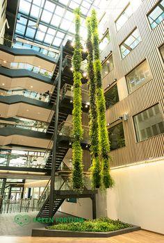 a plantwire installation at Göteborg Energi, Sweden...