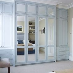Making your own fitted wardrobe or built-in cupboard allows you the freedom to choose a design and customise the storage to suit your needs. You can also choose the material for making your fitted wardrobe or built-in cupboard, rather than have to settle for melamine or laminated chipboard.