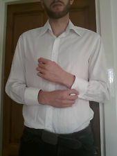 Men's Medium sized White formal shirt - Next