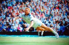 Voladora de Boris Becker