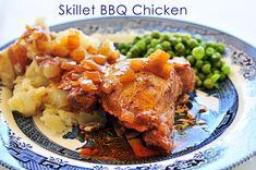 Skillet BBQ Chicken