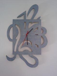 My wooden clock...