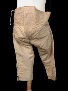 Breeches      National Trust Inventory Number 1361218  Category Costume  Date 1750  Materials Silk
