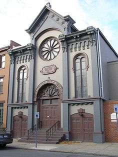 Congregation Berith Sholom  167 Third St, Troy NY  Oldest in standing synagogue building in New York State outside of NYC.