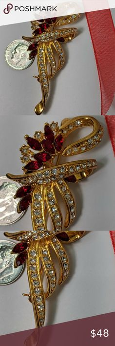 metal brooch geometric brooch mixed metal brooch steampunk brooch brooch women large metal brooch statement brooch, copper jewelry