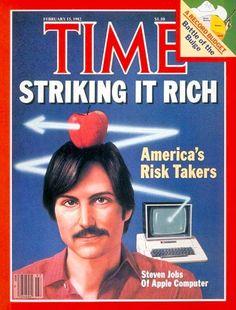 Steve Jobs (1982 TIME cover)