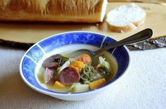 This Turkey Sausage, Kale & Cabbage Soup provides a good dose of vegetables and is healthy and delicious.