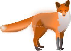 """Fox"" by Lorenzo-CZ | Redbubble Chiffon Shirt, Chiffon Tops, Long Hoodie, Tigger, Floor Pillows, Decorative Throw Pillows, Art Boards, Classic T Shirts, Stationery"
