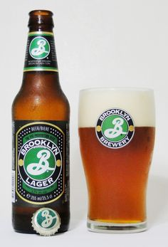 Brooklyn lager , not bad but seems fairly bland compared to a lot of other beers Malt Beer, Lager Beer, Brooklyn Lager, Beer 101, Beers Of The World, Brew Pub, Beer Garden, Beer Label, Brewery