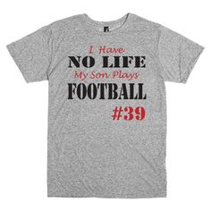 d7776128 43 Best Football Mom Shirts images | Football mom shirts, Custom ...