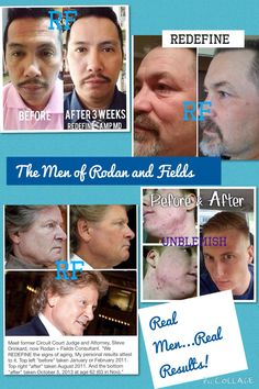 Real Men with Real Results thanks to Rodan and Fields