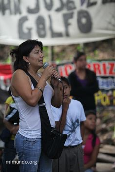 June 13, 2012: Guatemalan female activist shot for leading blockade against a Canadian-owned gold mine