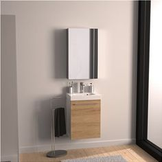 Mobile bagno Remix 1 anta L 46 x P x H 58 cm bianco Laundry Room Wall Decor, Laundry Room Bathroom, Small Laundry Rooms, Small Rooms, Living Room Decor, Laundry Room Inspiration, White Rooms, Double Vanity, Mirror