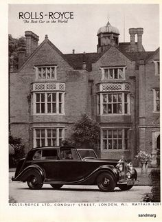 Vintage 1947 Rolls Royce Silver Wraith Mulliner Sedanca de Ville The Best Car in…