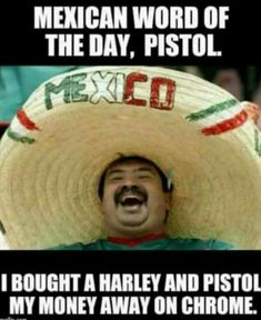 Mexican Word of the Day - Pistol