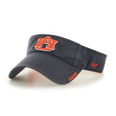 premium selection 40a48 abe84 Auburn Tigers Ice Visor Vintage Navy 47 Brand Adjustable Hat