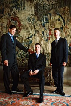 TRH Prince Peter, Prince Philip and Prince Alexander - The Royal Family of Serbia Serbia And Montenegro, Royal House, Prince Philip, Serbian, History Facts, King Queen, British Royals, Queen Elizabeth, Royalty