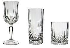 Lot de 12 pièces de quatre Opera Maison 24% ploMB 23 cl, italienne Cristal verres à vin 35 cl &30cl Whisky Verres à cocktail Highball…