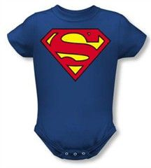 Superman Costume Infant One-Piece Snapsuit, 24 Months: Outfit your little superhero with this adorable infant one-piece snapsuit. An officially licensed Superman product, the snapsuit features our cool costume design printed on cotton. Superman Kids, Superman T Shirt, Superman Logo, Superman Stuff, Super Hero Costumes, Baby Costumes, Toddler Costumes, Superman Merchandise, Dc Comics