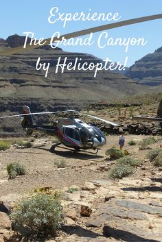 Land on the bottom of the Canyon from Las Vegas! Learn more: http://www.grandcanyonhelicopters.org/mbx/005/