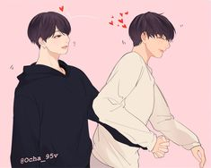 Taekook, Vkook Fanart, Kpop Drawings, Couple Drawings, K Pop, We Bare Bears Wallpapers, Otp, Z Cam, Cute Couple Art