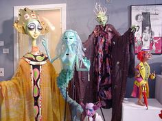 Ballard Museum of Puppetry at UConn in Storrs Marionette Puppet, Puppets, Paper Dolls, Art Dolls, Atlantic Salmon, Prop Making, Twelfth Night, Theatres, Paper Mache