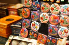 handmade souvenir from Budapest Hungary, Budapest Christmas Fair and Market: Shop for Crafty gifts with a Festive Vibe | Souvenir Finder, embroidered magnet