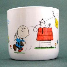 Charlie and Snoopy