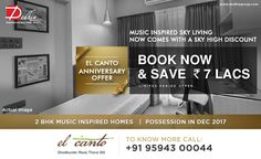 Dedhia Elcanto  Music inspired sky living now comes with a sky high discount Ultra Luxurious 2 BHK Homes - Book Now & Save 7 Lacs.  dedhiagroup.com/  #dedhia #dedhiagroup #realestate #luxury #luxurioushouse #realtor #propertymanagement #bestpropertyrates #homesellers #bestexperience #homebuyers #dreamhome #thane #ghodbunder