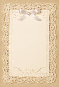 Lace frame - background