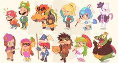 Super Smash Brothers Ultimate: Image Gallery - Page 2 Super Smash Bros, Geeks, Pichu Pokemon, Nintendo Characters, Fictional Characters, Dreamworks Movies, Nintendo Sega, Fanart, Metroid