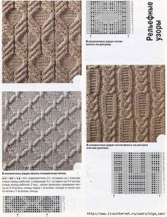 This is from a Russian website with a lot of charted stitch patterns.:
