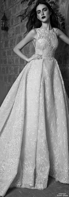 Zuhair Murad Bridal Fall 2016 not the normal style I like, but this is gorgeous!