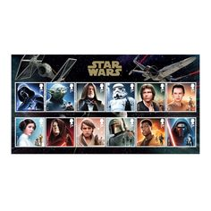 STAR WARS™ Character Stamp Set at Royal Mail Shop - Error(s) on page