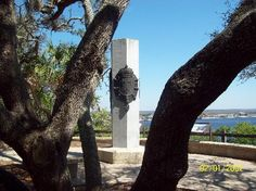 The Ribault Monument, the highest point in Jacksonville, FL.