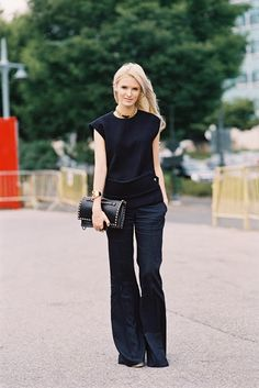 The Editorialist's Kate Davidson Hudson, before Alexander Wang, NYC, September 2013. Photo by Vanessa Jackman.