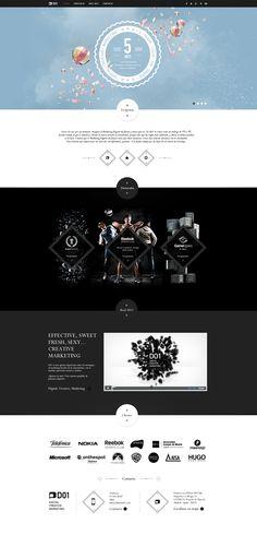 D01 New Site by Julián Pascual González, via Behance