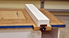 Make A Table Saw Fence For Homemade Table Saw https://www.youtube.com/watch?v=y0R5rO1jJqM