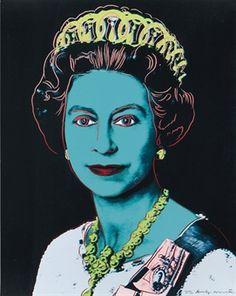Queen Elizabeth II / Andy Warhol