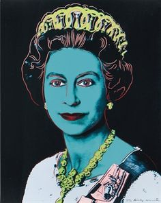 Andy Warhol / Queen Elizabeth II