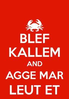 BLEF KALLEM Agge mar leut et