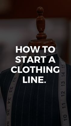 How to start a clothing line. Starting A Clothing Business, Fashion Line, Mens Fashion, Mens Clothing Lines, Clothing Boutique Interior, College Wardrobe, Become A Fashion Designer, Make Your Own Clothes, Clothing Hacks