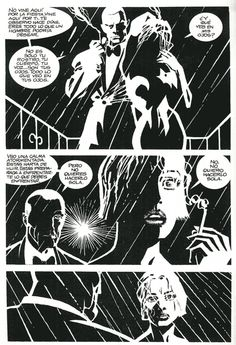 Sin City: The Customer Is Always Right page 2 by Frank Miller Frank Miller Sin City, Frank Miller Art, Frank Miller Comics, Dark Comics, Bd Comics, Short Comics, Comic Book Characters, Comic Books Art, Book Art