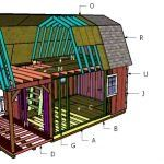 This step by step diy project is about gambrel shed plans. I have designed this barn storage shed, so you can finally have that workshop you have always dreamed about. In addition, you have a super easy access to the shed, due to the double doors. Awesome Woodworking Ideas, Woodworking Projects Diy, Woodworking Plans, Lean To Shed Plans, Run In Shed, Barn Storage, Storage Shed Plans, 10x20 Shed, Shed Frame