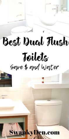 Did you know standard toilet height is inches? You may want a toilet that's higher or lower. You may want a wall mounted toilet. We're here to help. Check here to find the best restroom ideas in our dual flush toilet guide. Bathroom Hacks, Small Bathroom, Bathroom Organization, Organization Hacks, Small Toilet, New Toilet, Decorating On A Budget, Decorating Blogs, Dual Flush Toilet