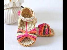 Pantalones cortos de ganchillo. Crochet shorts. Galicraft. - YouTube